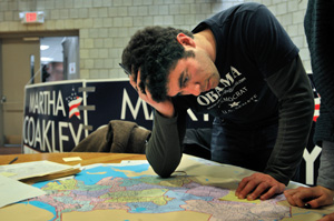 Alex Okrent '05 was memorialized in The New York Times with this evocative image.