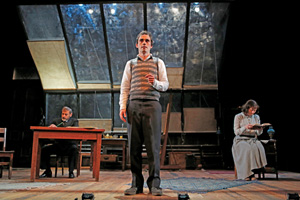 Ari Brand '06 plays the title role in My Name Is Asher Lev. Photo: Joan Marcus.