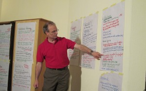 Tjip Walker facilitates a conflict assessment in Abuja, Nigeria.