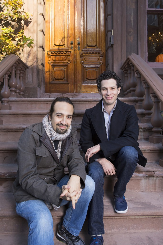 Lin-Manuel Miranda (left) and Thomas Kail have developed a close and trusting creative rapport that has led to two groundbreaking shows. Photo: Robert Adam Mayer.